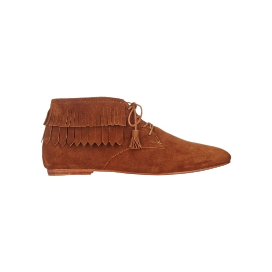 Picture of Fringed ankle boots