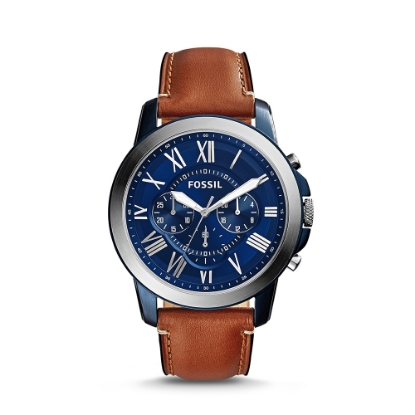 Picture of Grant Leather Watch